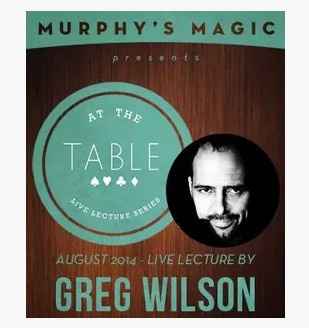 2014 At the Table Live Lecture starring Greg Wilson (Download)