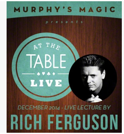 2014 At the Table Live Lecture starring Rich Ferguson (Download)