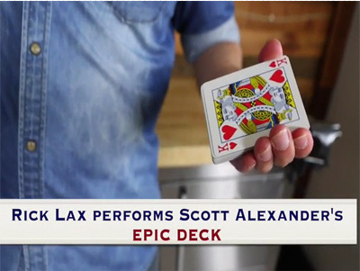 2016 Epic Deck by Scott Alexander (Presented by Rick Lax)
