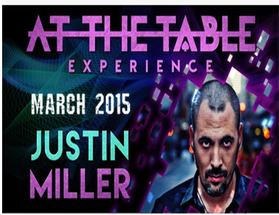 2015 At the Table Live Lecture starring Justin Miller (Download)