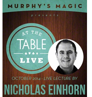 2014 At the Table Live Lecture starring by Nicholas Einhorn (Download)
