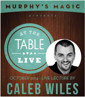 2014 At the Table Live Lecture starring Caleb Wiles (Download)