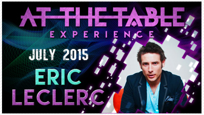 2015 At the Table Live Lecture starring Eric Leclerce (Download)