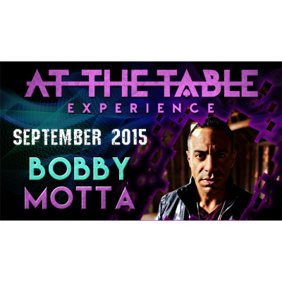 2015 At the Table Live Lecture starring Bobby Motta (Download)
