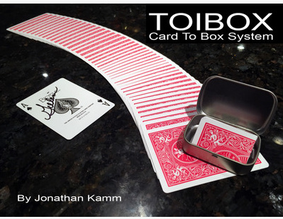 2016 Toibox Card To Box System by Jonathan Kamm (Download)