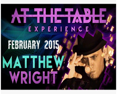 2015 At the Table Live Lecture starring Matthew Wright (Download)