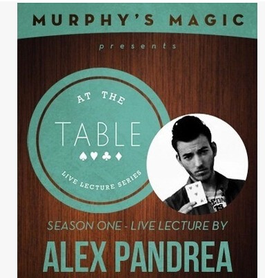 2014 At the Table Live Lecture starring Alex Pandrea (Download)
