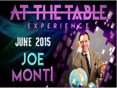 2015 At the Table Live Lecture starring Joe Monti (Download)