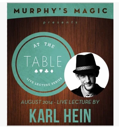 2014 At the Table Live Lecture by Karl Hein (Download)
