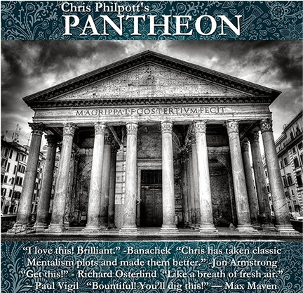 Chris Philpott's PANTHEON 3 DVDs set
