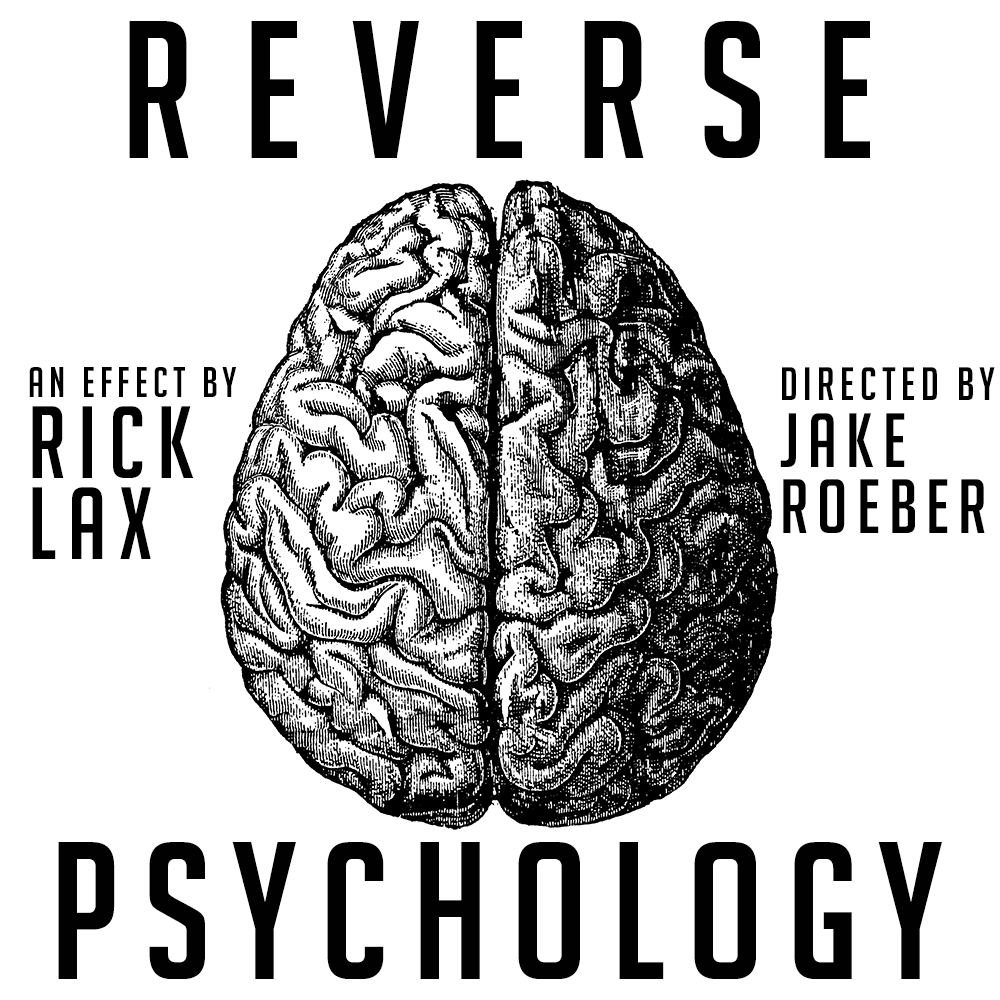 Reverse Psychology by Rick Lax (Instant Download)