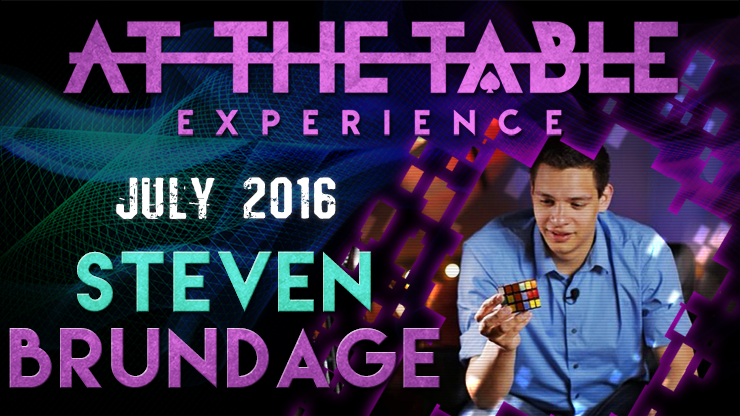 At the Table Live Lecture starring Steven Brundage July 20th 2016 video DOWNLOAD