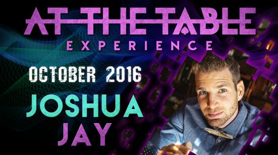At The Table Live Lecture Joshua Jay 2nd October 19th
