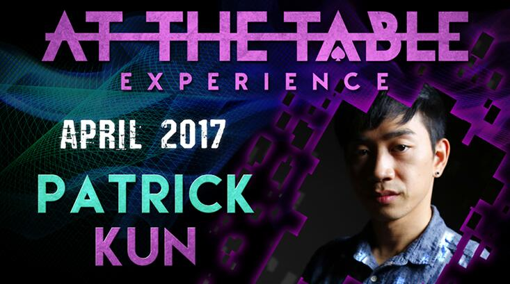 At The Table Live Lecture by Patrick Kun 2 April 5th 2017