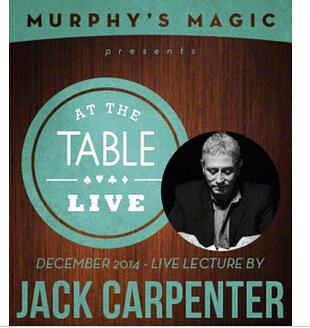 2014 At the Table Live Lecture starring Jack Carpenter (Download)