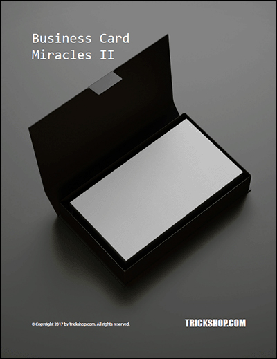 Business Card Miracles II Trickshop.com (PDF DOWNLOAD)