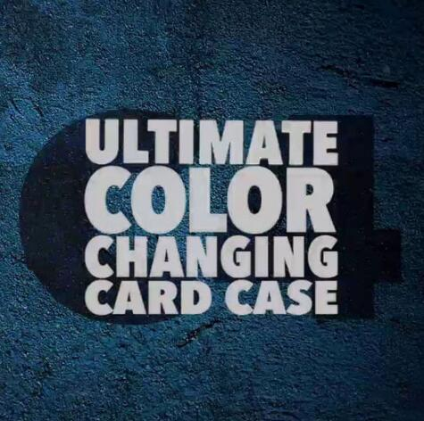 C4 by Jonathan Levit ultimate color changing card case