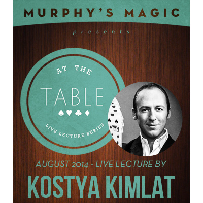 2014 At the Table Live Lecture starring Kostya Kimlat (Download)