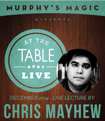 2014 At the Table Live Lecture starring Chris Mayhew (Download)