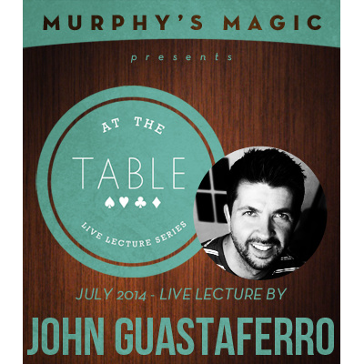 2014 At the Table Live Lecture starring John Guastaferro (Download)