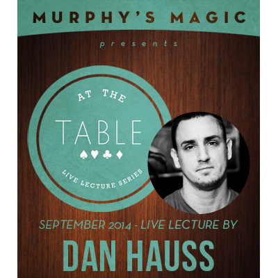2014 At the Table Live Lecture starring Dan Hauss (Download)
