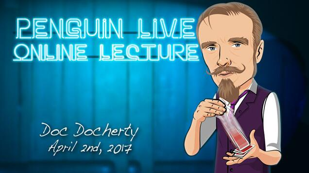 Doc Docherty Penguin Live Online Lecture
