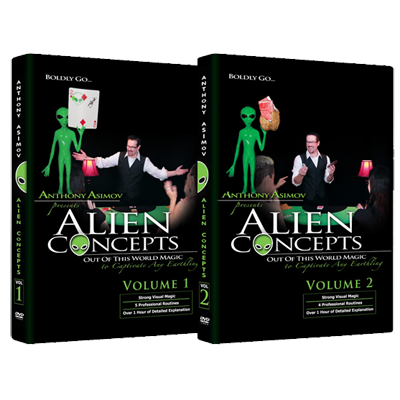 Alien Concepts (Part 1-2) by Anthony Asimov Black Rabbit Series Issue #1