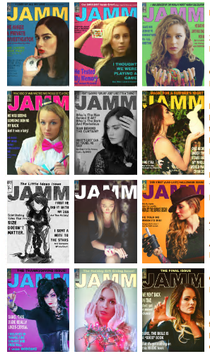 The Jerx - JAMM #1-12 all 12 Issues