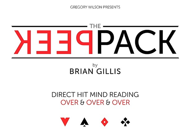 The Peek Pack by Brian Gillis (Presents by Gregory Wilson)