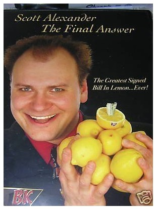 The Final Answer (2 Vol Set) by Scott Alexander (Videos Download)