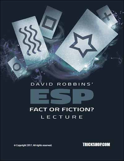 David Robbins' ESP - Fact or Fiction Lecture