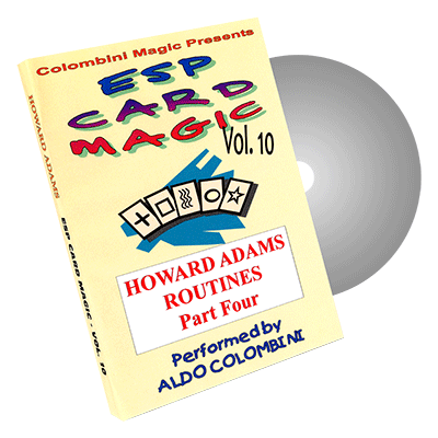 ESP Card Magic (Howard Adams) Vol. 10 by Aldo Colombini