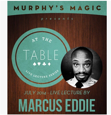 2014 At the Table Live Lecture starring Marcus Eddie (Download)