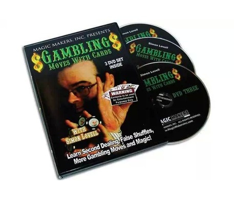 Simon Lovell Gambling Moves With Cards 3 vols (Download)
