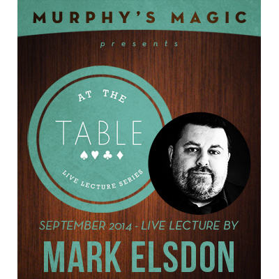 2014 At the Table Live Lecture starring Mark Elsdon (Download)