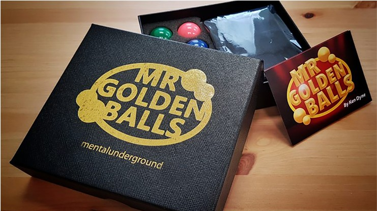 Mr Golden Balls (Online Instructions) by Ken Dyne