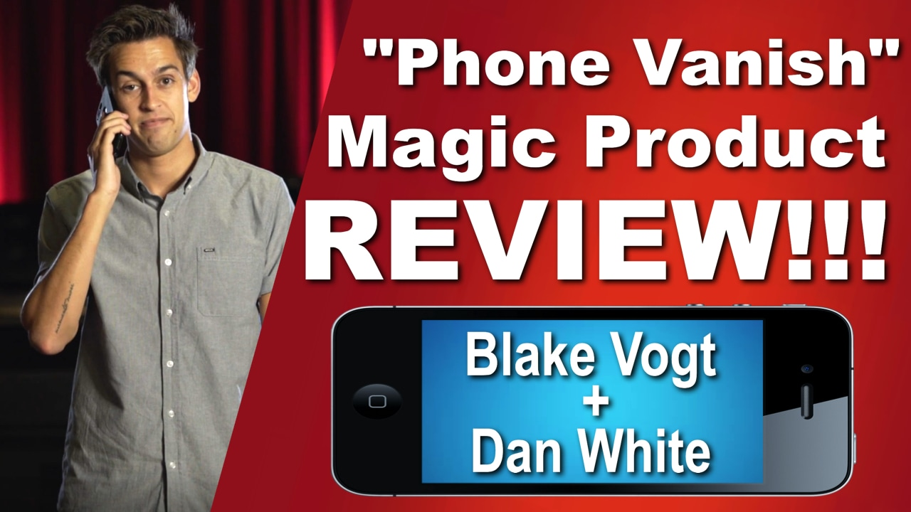 Phone Vanish by Blake Vogt & Dan White