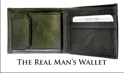 Real Man's Wallet By Gregory Wilson
