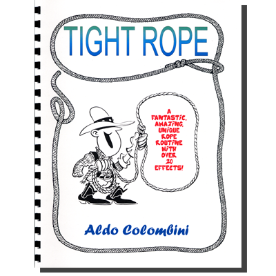 Tight Rope (Spiral Bound) by Aldo Colombini (PDF download)
