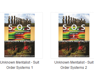 Suit Order Systems 1-2 by Unknown Mentalist S.O.S