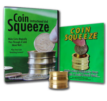 Coin Squeeze by Simon Lovell and Magic Makers