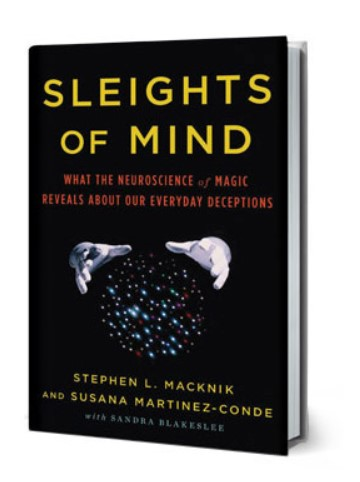 Sleights of Mind by Stephen L. Macknik and Susana Martinez-Conde PDF