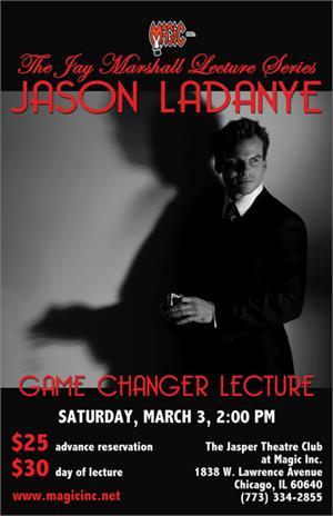 Jason Ladanye Magic Circle Lecture 2018