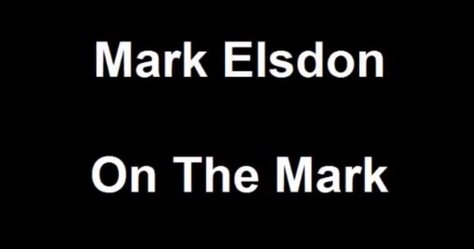 On The Mark By Mark Elsdon (PDF instructions only)