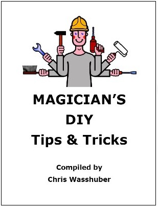 Magician's DIY Tips and Tricks By Chris Wasshuber PDF