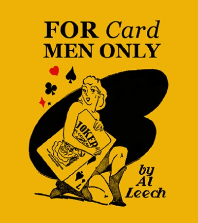 For Card Men Only By Al Leech