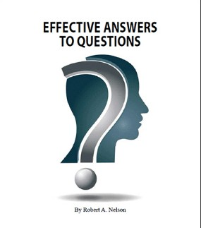 Effective Answers to Questions By Robert Nelson