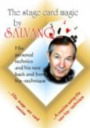 Stage Card Magic by Salvano (DVD download)