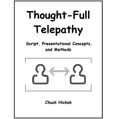 Thought-Full Telepathy by Chuck Hickok (PDF Download)