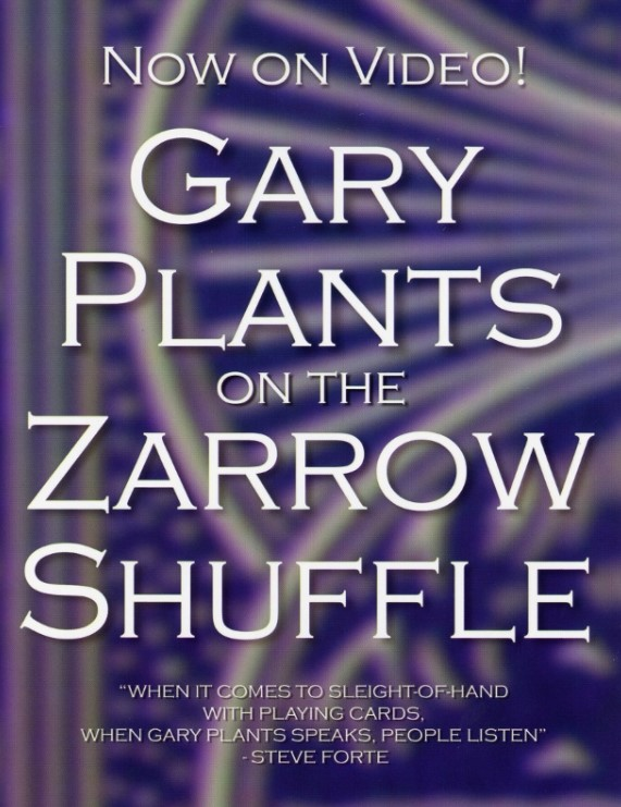 Gary Plants on the Zarrow Shuffle (video download)